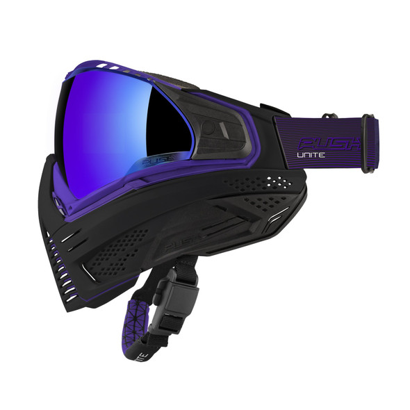 Push Unite Paintball Mask - Purple