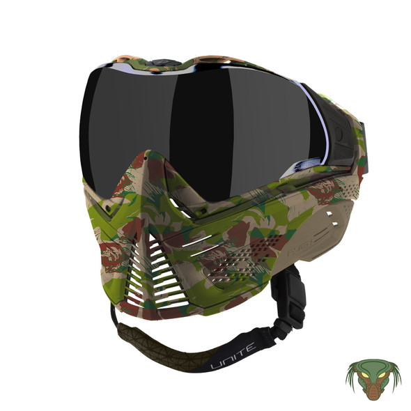 Push Unite Paintball Mask - Predator Camo