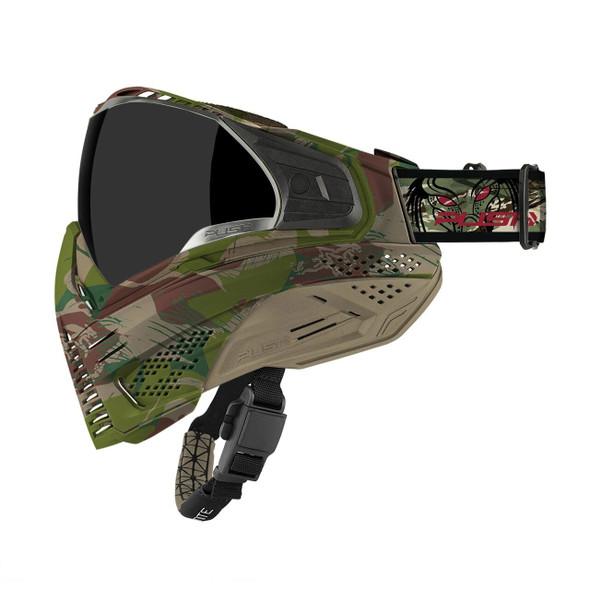 Push Unite Paintball Mask - Predator Camo
