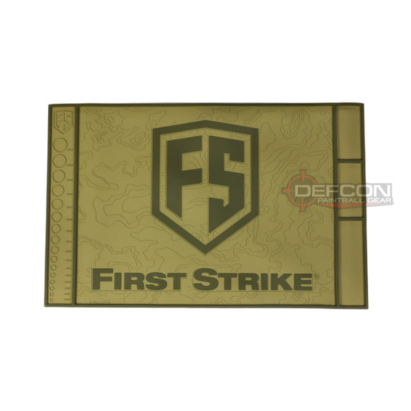 First Strike Tech Mat - Tan/Green