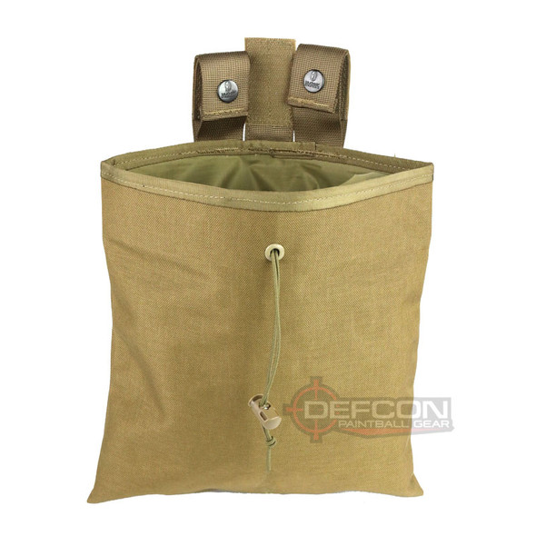 KWS Large Roll Up Dump Pouch / Coyote