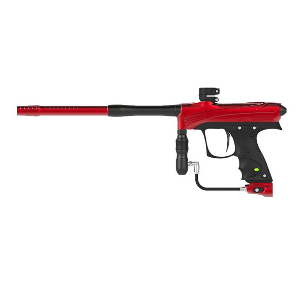 DYE Rize CZR Paintball Gun - Red/Black