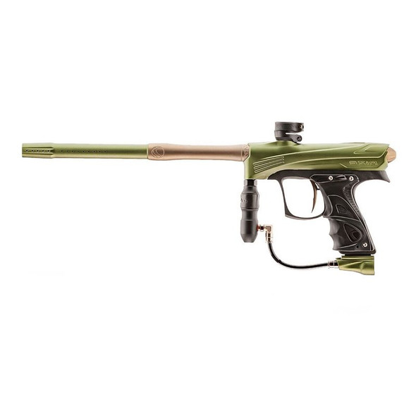 DYE Rize CZR Paintball Gun - Olive/Tan