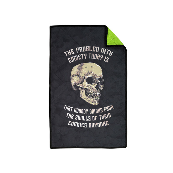 Exalt Microfiber Player Size Skulls