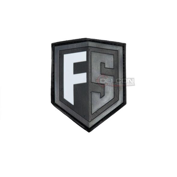 First Strike Shield Patch /  Grey