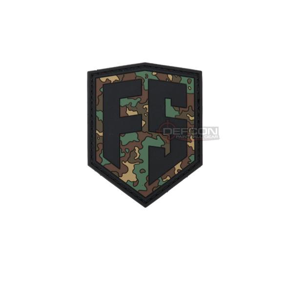 First Strike Shield Patch /  Woodland