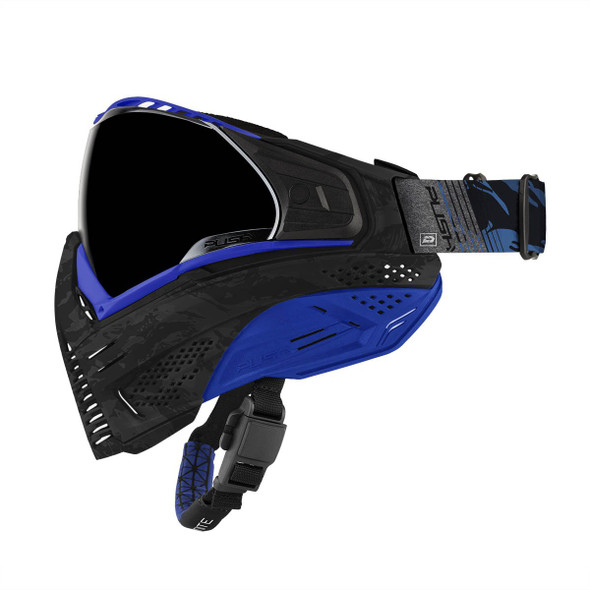Push Unite Paintball Mask - Blue Camo