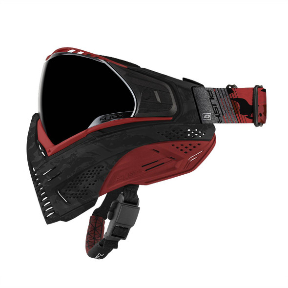 Push Unite Paintball Mask - Red Camo