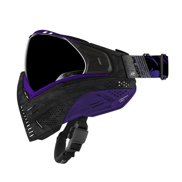 Push Unite Paintball Mask - Purple Camo
