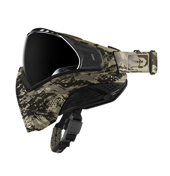Push Unite Paintball Mask - Tan Camo