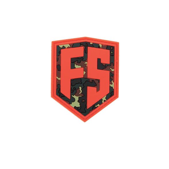First Strike Shield Patch / Orange