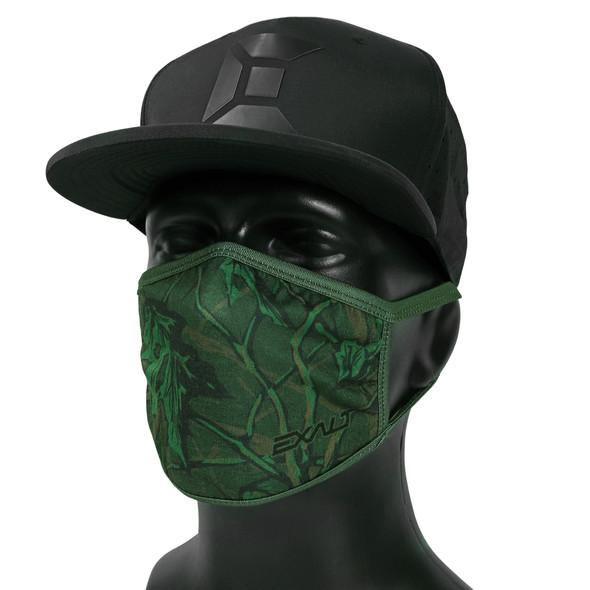 Exalt Face Mask / Green Branch Camo