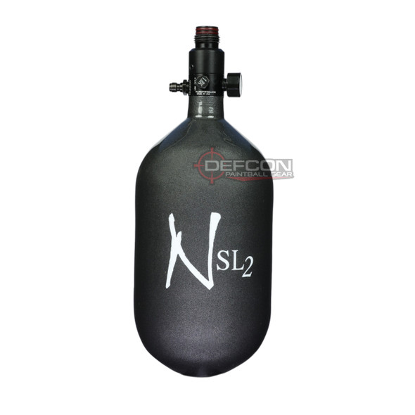 Ninja 68/4.5k SL2 Super Light HPA Paintball Tank - Gunsmoke