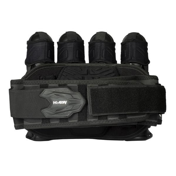 HK Army Zero G 2.0 Harness 4+3 - Black/Black