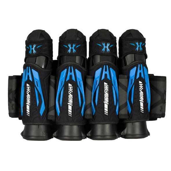 HK Army Zero G 2.0 Harness 4+3 - Black/Blue