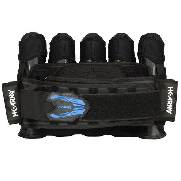 HK Army Zero G 2.0 Harness 5+4 - Black/Blue