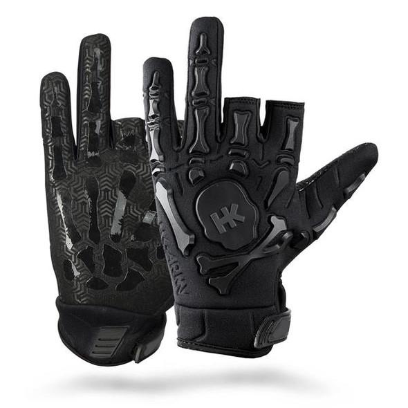 HK Army Bones Glove - Black/Black
