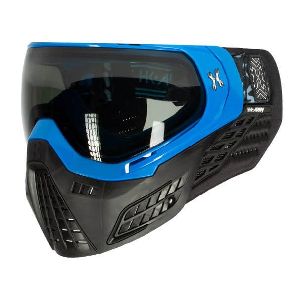 HK Army KLR Paintball Mask – Blackout / Blue