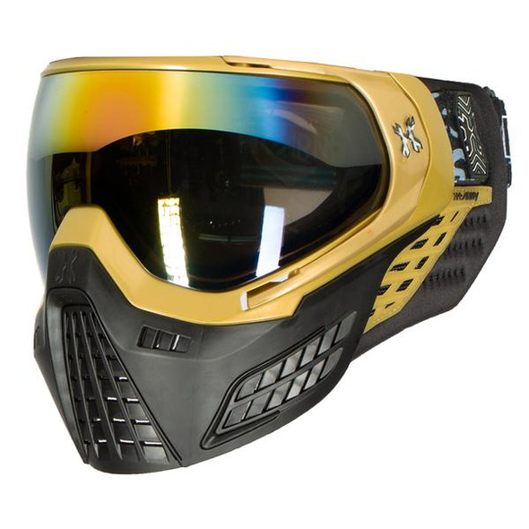 HK Army KLR Paintball Mask – Blackout / Gold