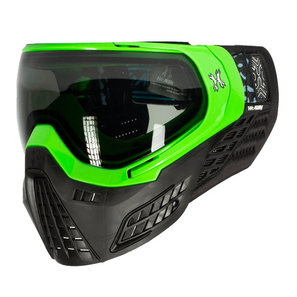 HK Army KLR Paintball Mask – Blackout / Neon Green