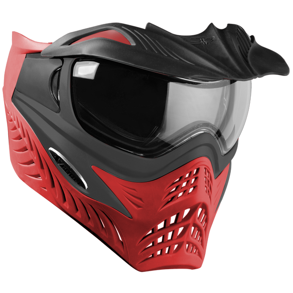 VForce Grill Grey Scarlet Thermal Paintball Mask