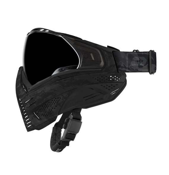 Push Unite Paintball Mask - Black Camo