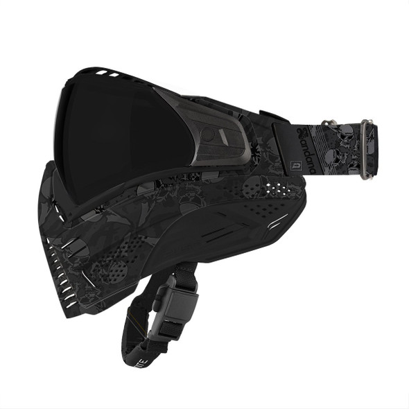 Push Unite Paintball Mask - Sandana Black
