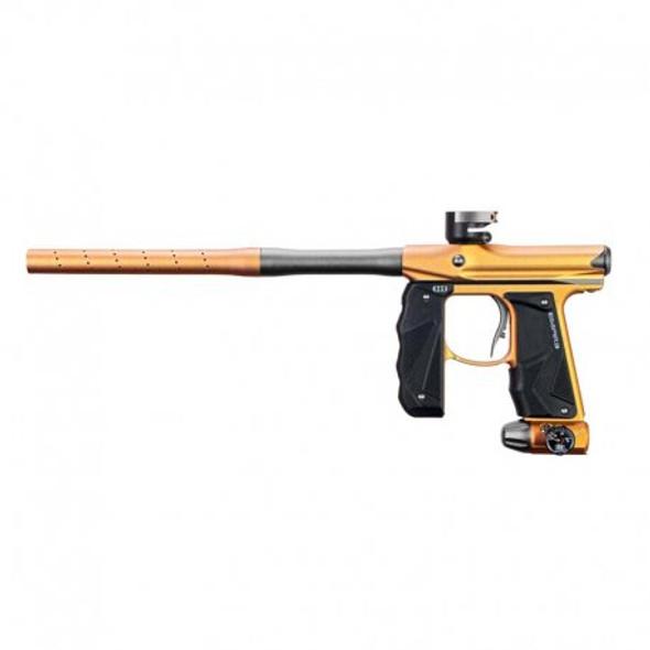 Empire Mini GS Paintball Gun w/ 2pc Barrel Dust Gold/Silver