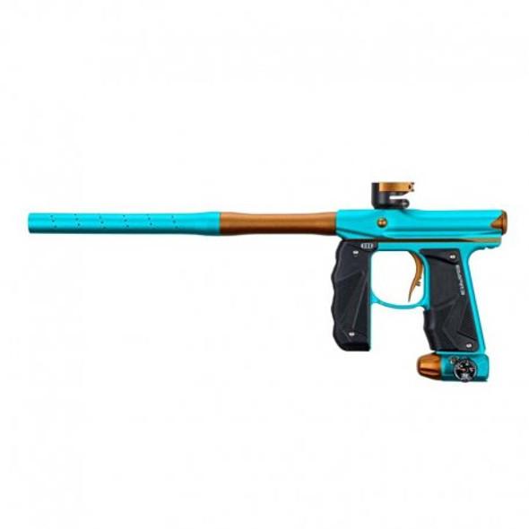 Empire Mini GS Paintball Gun w/ 2pc Barrel Dust Aqua/Orange