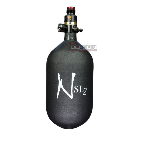 Ninja 68/4.5k SL2 Super Light PRO V2 HPA Paintball Tank - Gunsmoke