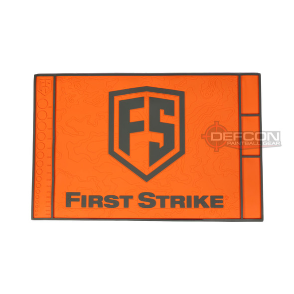 First Strike Tech Mat / Orange - Grey