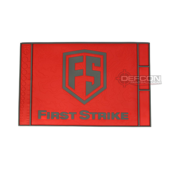 First Strike Tech Mat / Red - Grey
