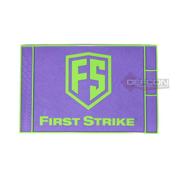 First Strike Tech Mat / Purple - Lime