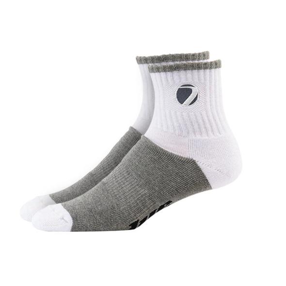 Dye Sock Sport  White/Grey - L/XL