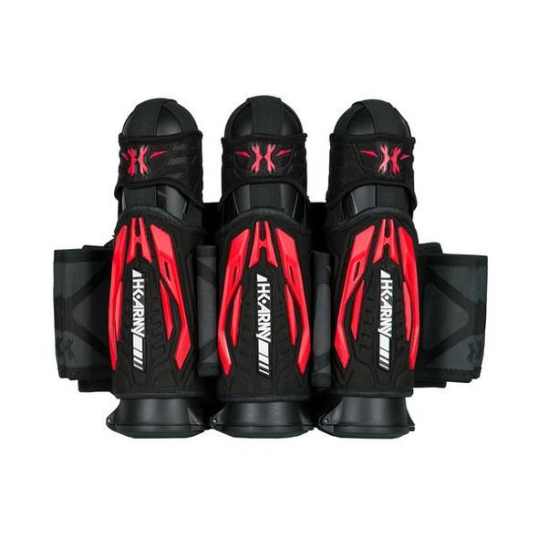 HK Army Zero G 2.0 Harness 3+2 - Black/Red