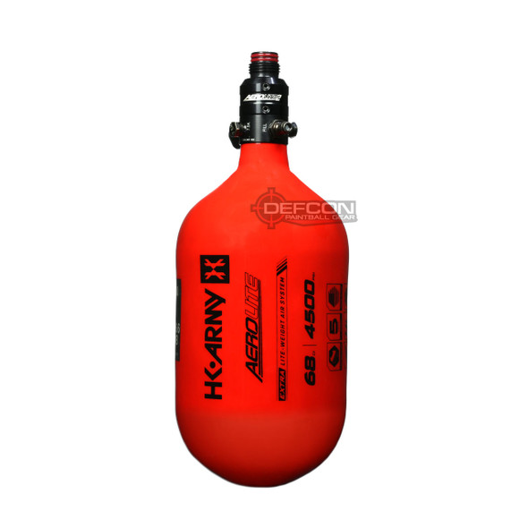 HK Army 68/4500 Extra Lite Air Tank w/ Aerolite2 Pro Regulator - Red