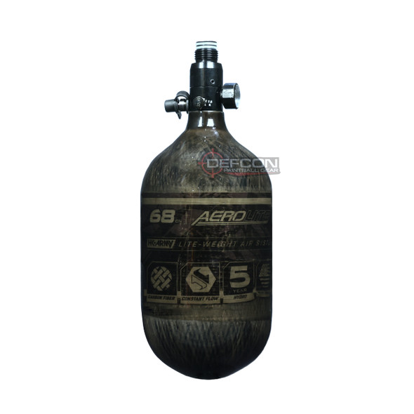 HK Army 68/4500 Aerolite Air Tank w/ Standard Regulator - Smoke