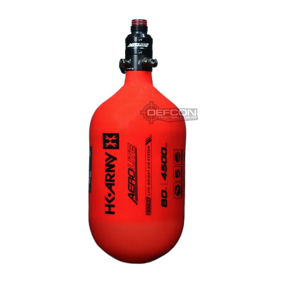 HK Army 80/4500 Extra Lite Air Tank w/ Aerolite2 Pro Regulator - Red