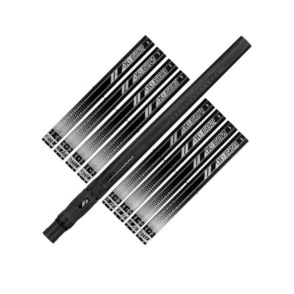 HK Army LAZR Barrel Kit - Dust Black/Black Inserts - Auto Cocker