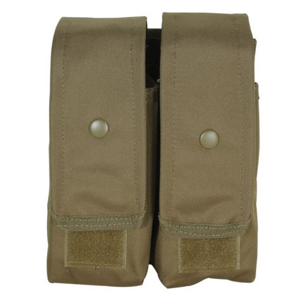 Voodoo M4/AK47 Double Magazine Pouch / Coyote