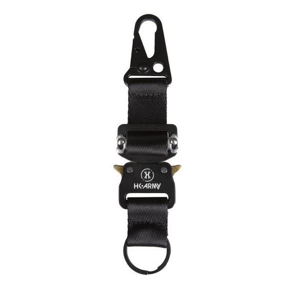 HK Army Quick Clip Keychain / Black
