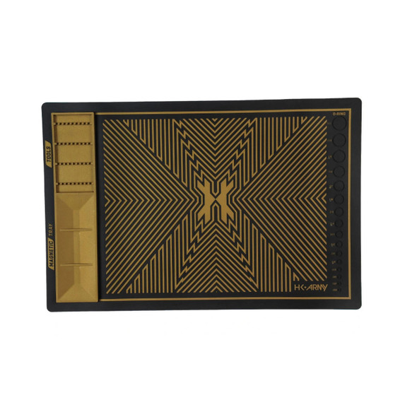 HK Army MagMat - Magnetic Tech Mat - Black/Gold