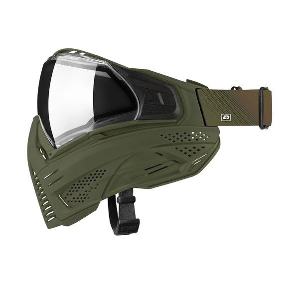Push Unite Basic Paintball Mask - Olive