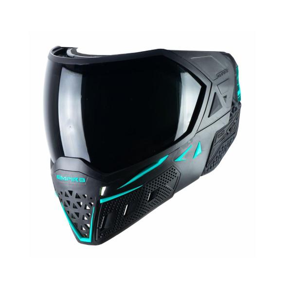 Empire EVS Paintball Mask - Black/Aqua