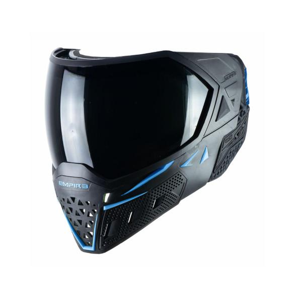 Empire EVS Paintball Mask - Black/Navy Blue