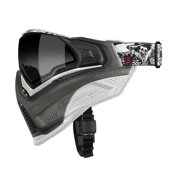 Push Unite Paintball Mask - FLX The Collector / White