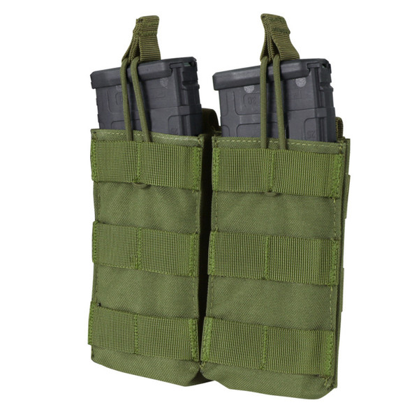 Condor Double M4/M16 Open Top Mag Pouch / Olive Drab