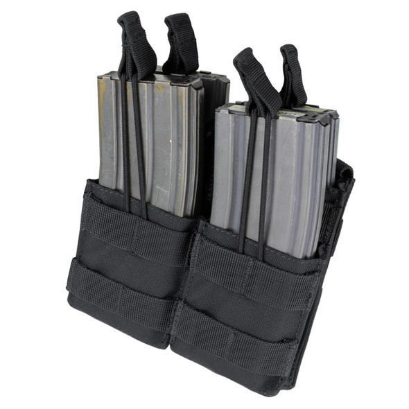 Condor Double Stacker M4 Mag Pouch / Black