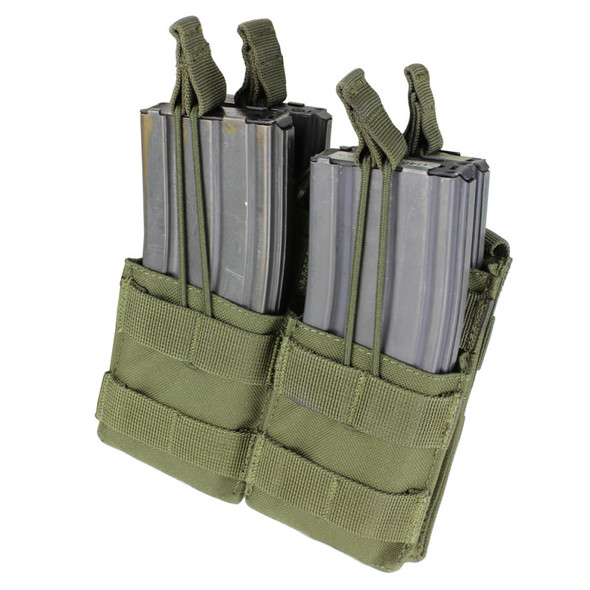 Condor Double Stacker M4 Mag Pouch / Olive Drab
