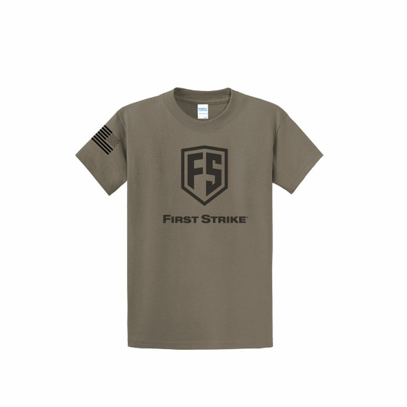 First Strike T-Shirt / Dark Earth Brown